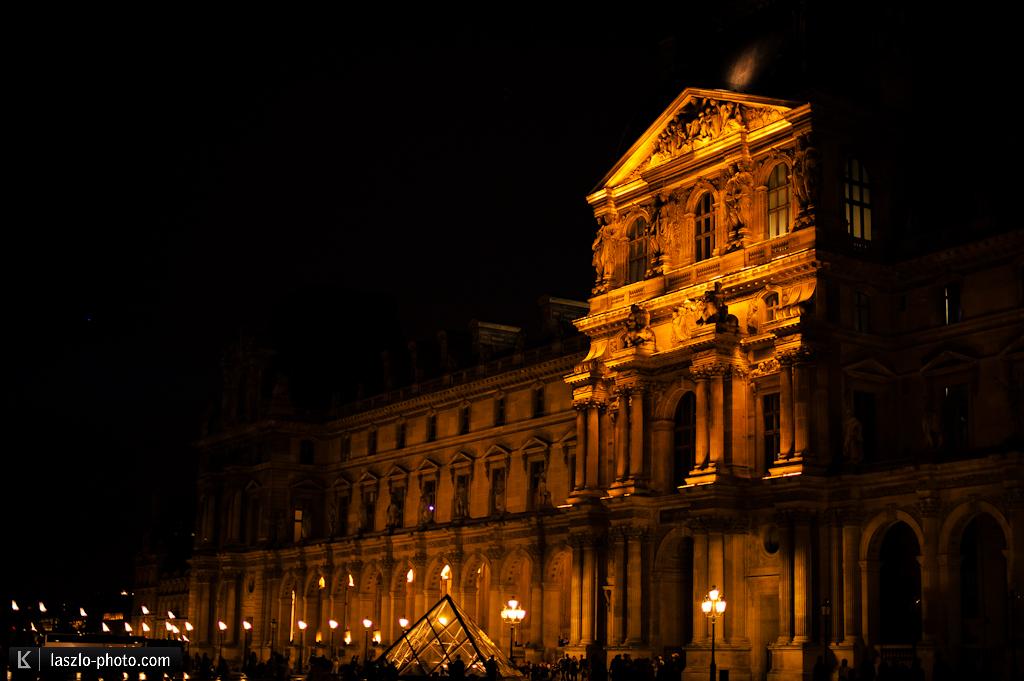 Ist doch recht groß, der Louvre.