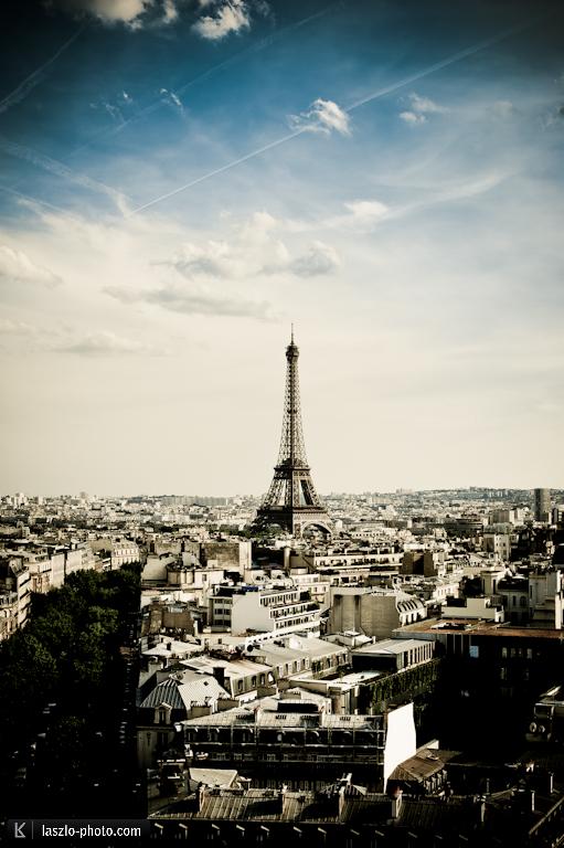 Kaum Postkarten in Paris zu bekommen ...