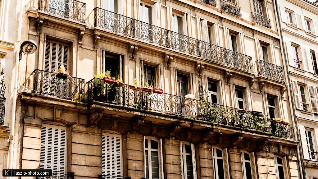 Pariser Riesenbalkone
