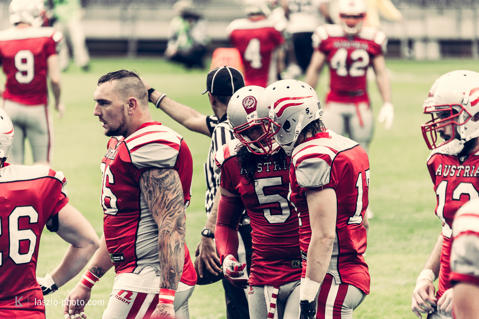 Austria vs. France, American Football EM, Einzug ins Finale