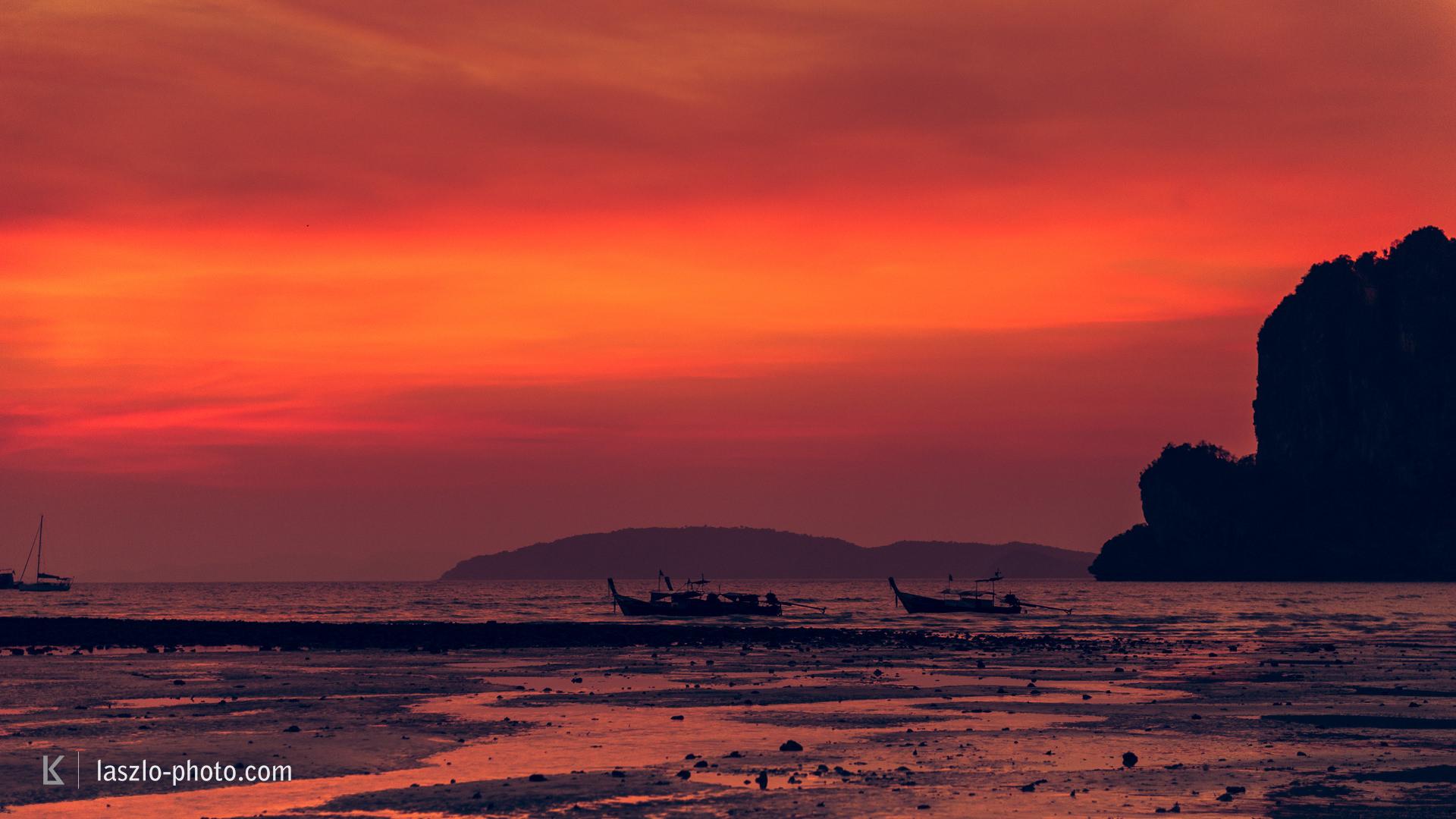 Railey Beach Sunset